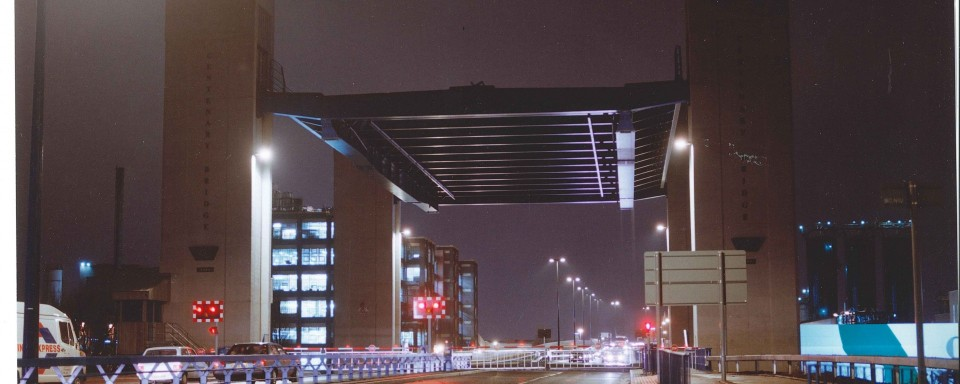 M602 Centenary Bridge, Manchester