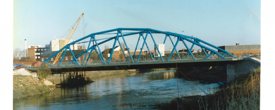 River Mersey Bridge, Centre Park, Warrington