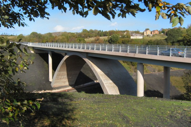 A469 Angel Way Bridge, Bargoed