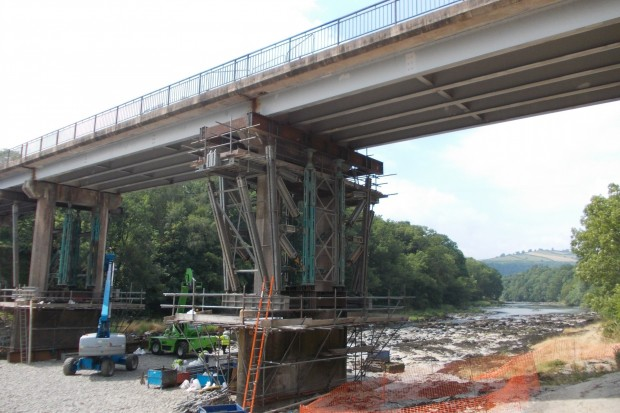 Erwood Bridge Refurbishment, Powys